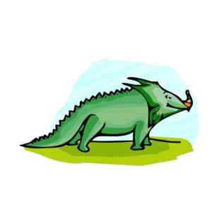 Baby triceratops listed in dinosaurs decals.