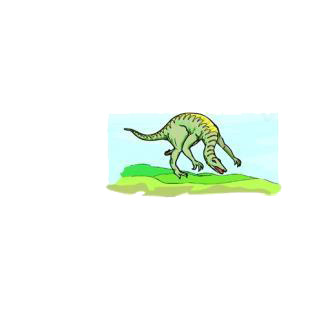 Apatosaurus listed in dinosaurs decals.
