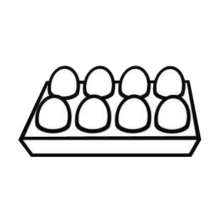 Eggs listed in chickens decals.