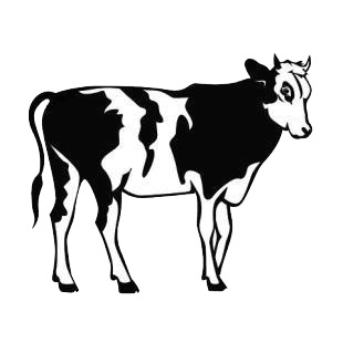 Cattle listed in cows decals.