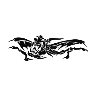 Dragon tattoo listed in dragons decals.