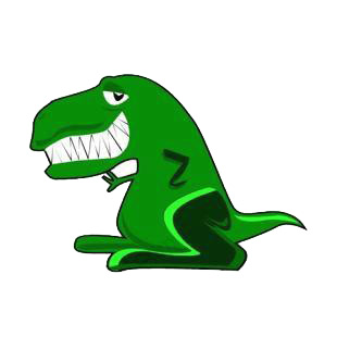 Tyrannosaurus rex listed in dinosaurs decals.