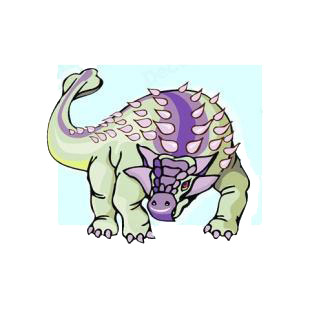 Pinacosaurus listed in dinosaurs decals.