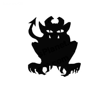 Gargoyle medieval myth listed in fantasy decals.