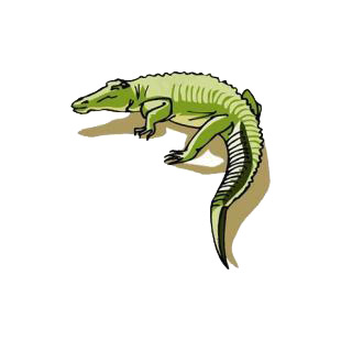 Alligator listed in reptiles decals.