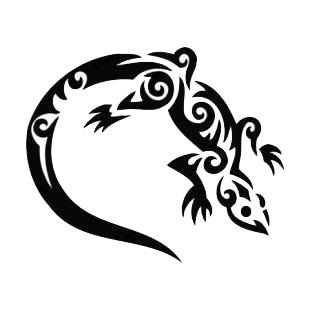 tatuaże jaszczurki