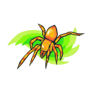Tarantula listed in insects decals.