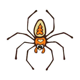 Spider listed in insects decals.