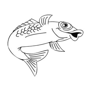 Happy fish listed in fish decals.