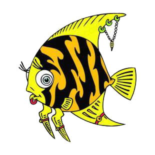 Punk fish listed in fish decals.