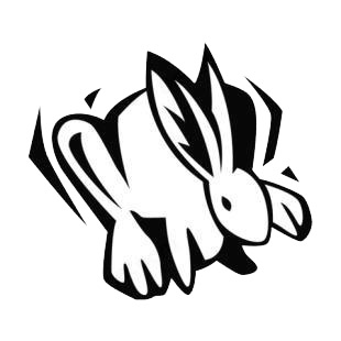 Rabbit listed in rabbits decals.