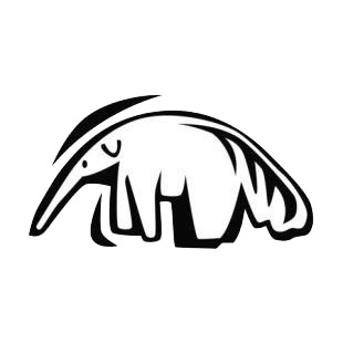 Anteater listed in rodents decals.