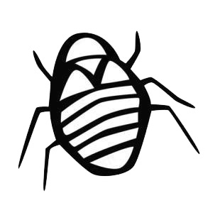 Bug listed in insects decals.