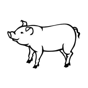 Pig listed in pigs decals.