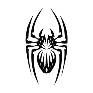 Spider tattoo listed in spiders decals.