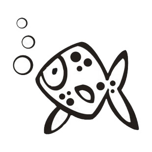 Fish breathing listed in more animals decals.
