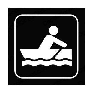 Boating sign listed in other signs decals.