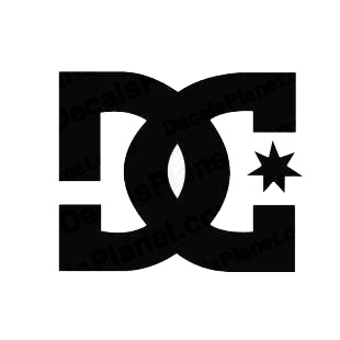 DC shoes skateboard skater sk8 sk8er listed in skate and surf decals.