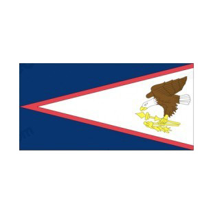American Samoa flag listed in flags decals.