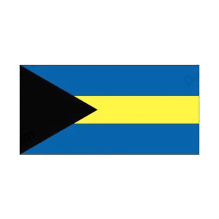 Bahamas flag listed in flags decals.