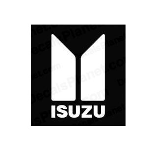 Isuzu invert logo listed in famous logos decals.