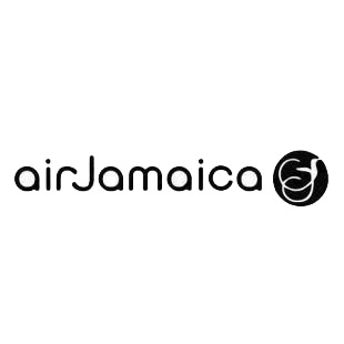 Air Jamaica logo listed in famous logos decals.