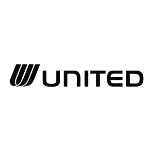 United logo listed in famous logos decals.