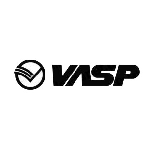 Vasp logo listed in famous logos decals.