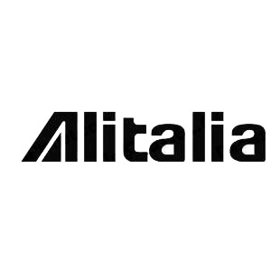 Air italia logo listed in famous logos decals.