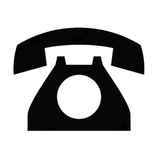 telephone signs and symbols