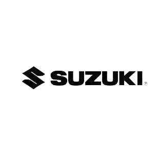 Suzuki logo listed in famous logos decals.