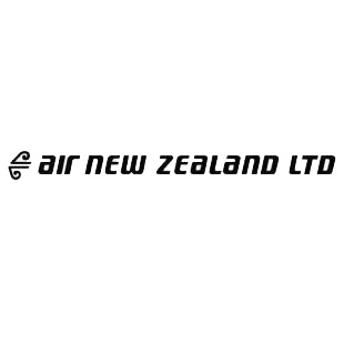 Air new zealand LTD logo listed in famous logos decals.