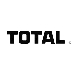 Total logo listed in famous logos decals.