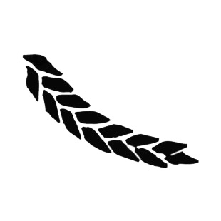 Wheat listed in agriculture decals.