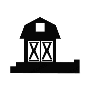 Barn listed in agriculture decals.