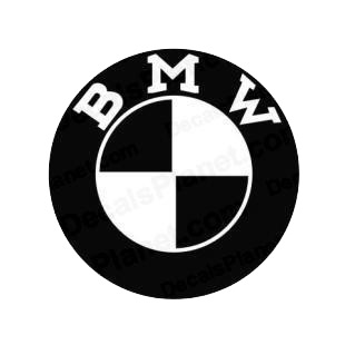 BMW logo 2 listed in bmw decals.