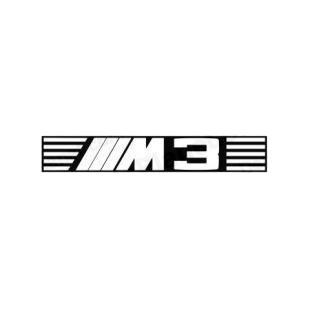 bmw m3 bmw transport models decal sticker 965