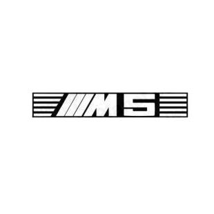bmw m5 bmw transport models decal sticker 968