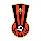 NK Celik Zenica soccer team logo, decals stickers