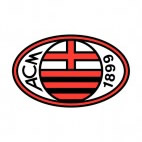AC Milan soccer team logo, decals stickers