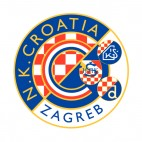 NK Dinamo Zagreb soccer team logo, decals stickers