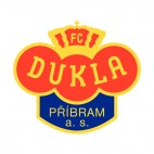 Dukla Prague soccer team logo, decals stickers