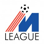 M league soccer logo, decals stickers