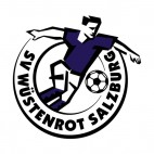 SV Wustenrot Salzburg soccer team logo, decals stickers