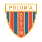 Polonia Bytom soccer team logo, decals stickers