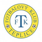 FK Teplice soccer team logo, decals stickers