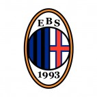 EBS soccer team logo, decals stickers