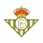 Real Betis soccer team logo, decals stickers