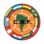 CONMEBOL South American Football Confederation logo, decals stickers