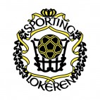 Sporting Club Lokeren  soccer team logo, decals stickers